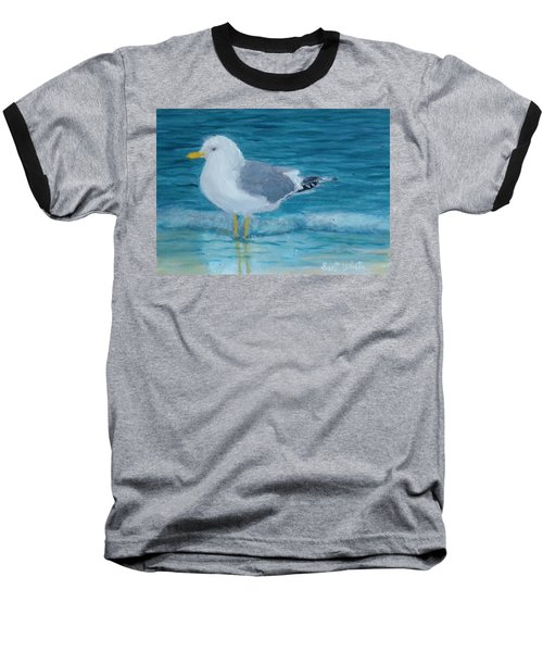 The Water's Cold Baseball T-Shirt