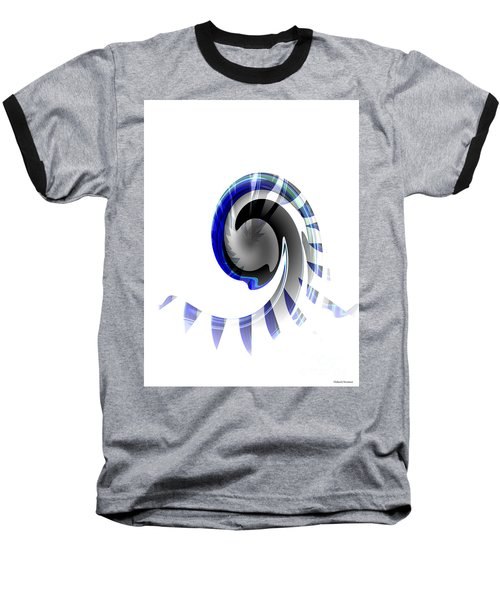 The Wave Baseball T-Shirt by Thibault Toussaint
