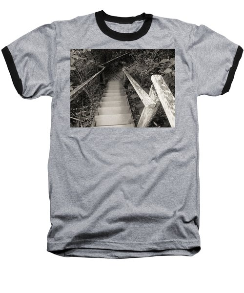 Baseball T-Shirt featuring the photograph The Way by Beto Machado