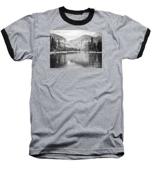 Baseball T-Shirt featuring the photograph The Way Down- Journey by Janie Johnson