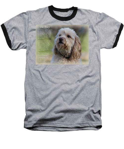 The Way Golden Doodle Baseball T-Shirt
