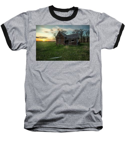 Baseball T-Shirt featuring the photograph The Way She Goes by Aaron J Groen