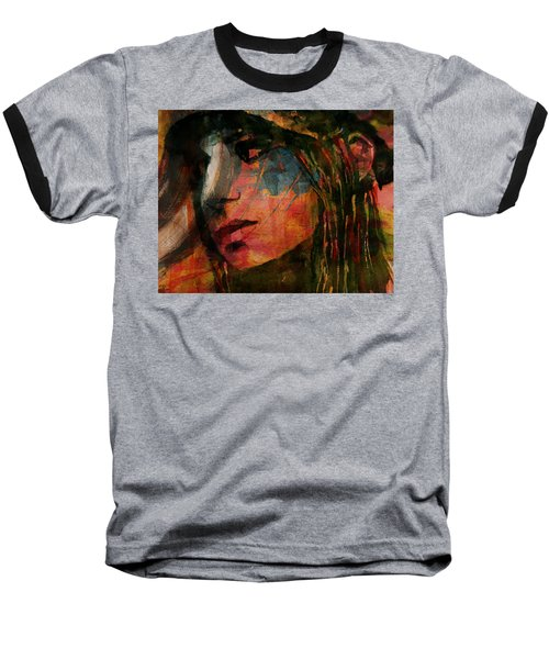 The Way We Were  Baseball T-Shirt by Paul Lovering