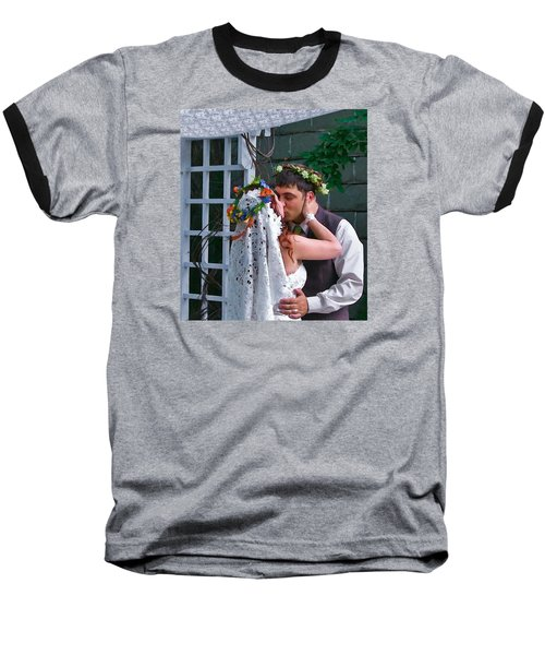 The Wedding Kiss Baseball T-Shirt