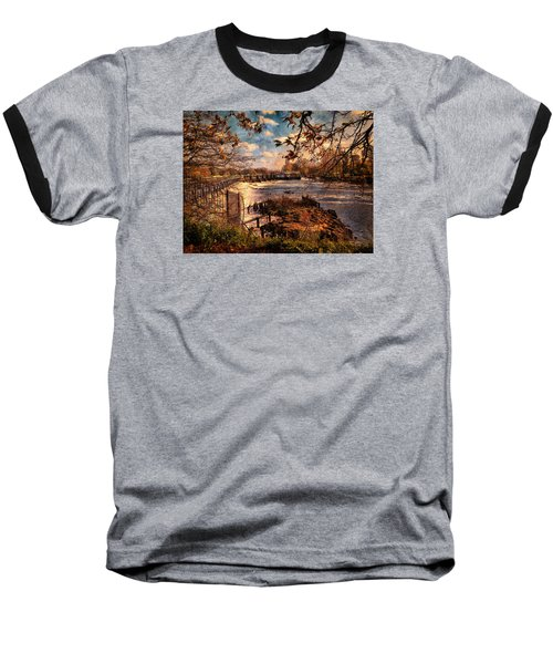The Weir At Teddington Baseball T-Shirt