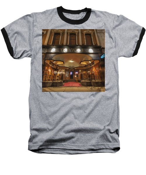 Baseball T-Shirt featuring the photograph The Well by Nicholas Grunas