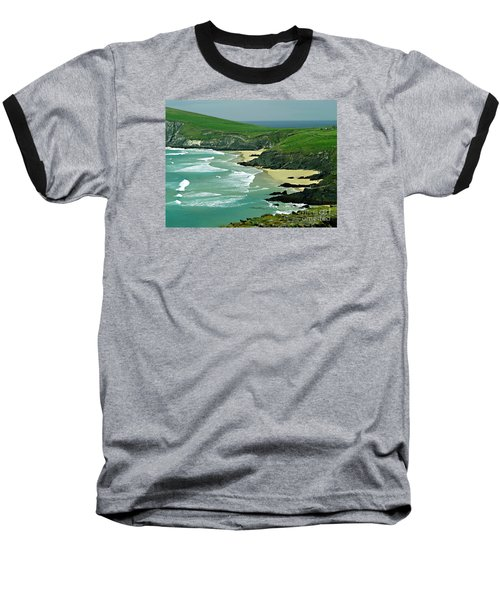 The West Coast Of Ireland Baseball T-Shirt by Patricia Griffin Brett