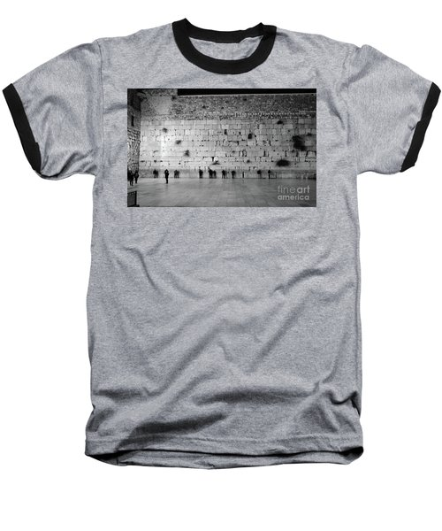 Baseball T-Shirt featuring the photograph The Western Wall, Jerusalem 2 by Perry Rodriguez