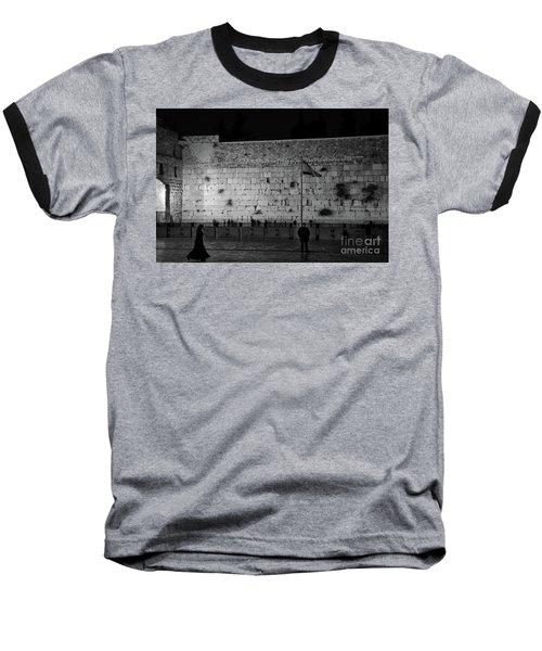 The Western Wall, Jerusalem Baseball T-Shirt