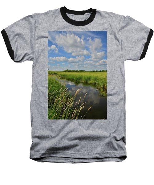 The Wetlands Of Hackmatack National Wildlife Refuge Baseball T-Shirt
