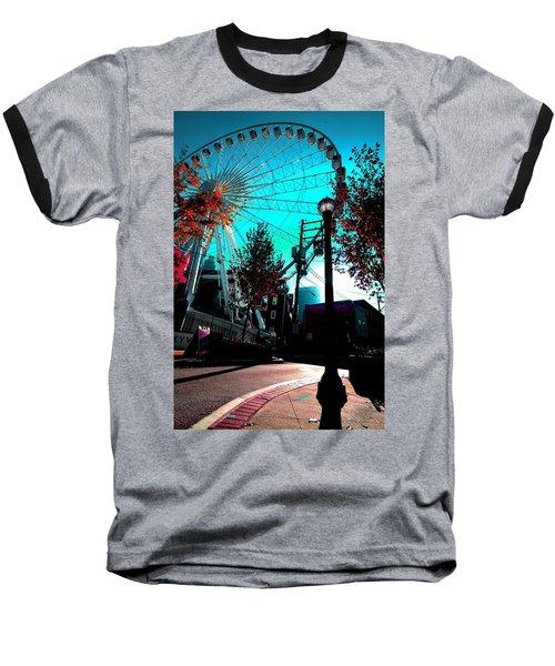 The Wheel Blue Baseball T-Shirt