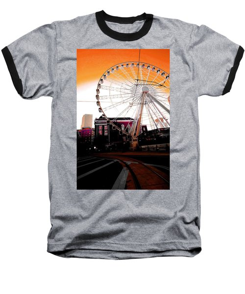 The Wheel  Baseball T-Shirt
