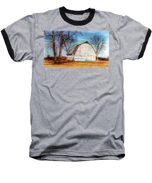 The White Barn Baseball T-Shirt by Karen McKenzie McAdoo