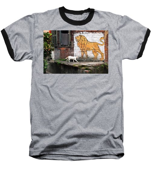The White Cat Baseball T-Shirt