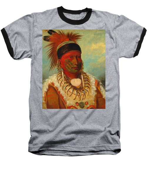 The White Cloud, Head Chief Of The Iowas Baseball T-Shirt