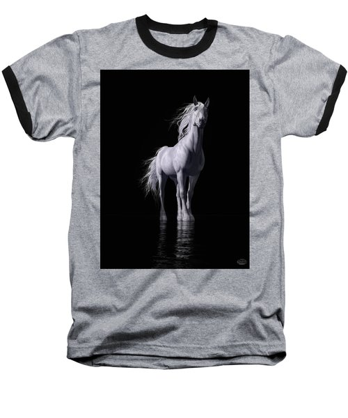 The White Horse Baseball T-Shirt