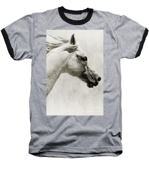 The White Horse IIi - Art Print Baseball T-Shirt