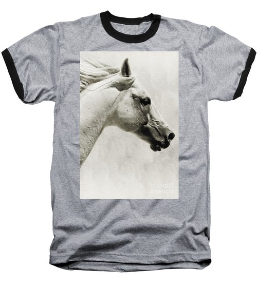 The White Horse IIi - Art Print Baseball T-Shirt