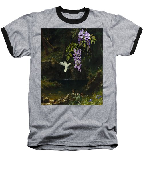 The White Hummingbird Baseball T-Shirt