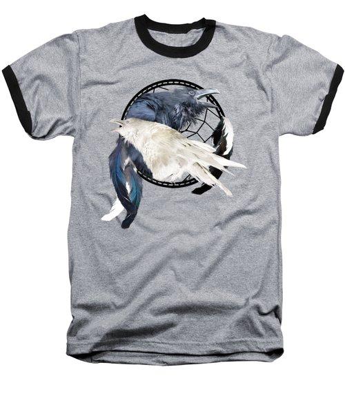 The White Raven Baseball T-Shirt