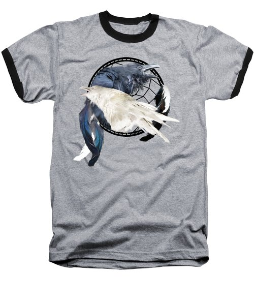 The White Raven Baseball T-Shirt
