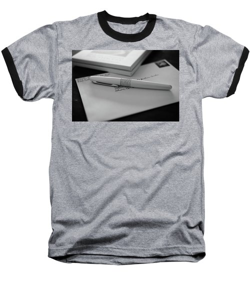 Baseball T-Shirt featuring the photograph The White Tiger by Monte Stevens