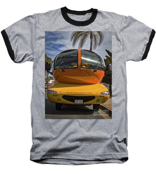 The Wienermobile Baseball T-Shirt