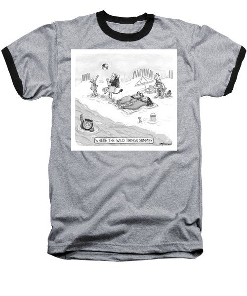 The Wild Things Baseball T-Shirt