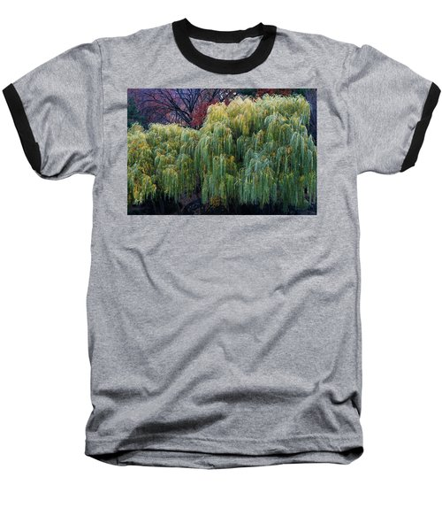 The Willows Of Central Park Baseball T-Shirt