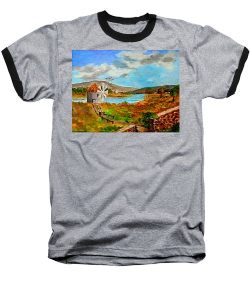 The Windmill Baseball T-Shirt