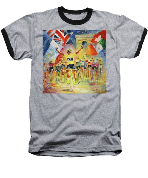 The Winner Of The Tour De France Baseball T-Shirt
