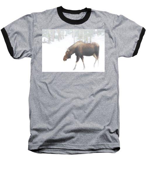 The Winter Moose Baseball T-Shirt