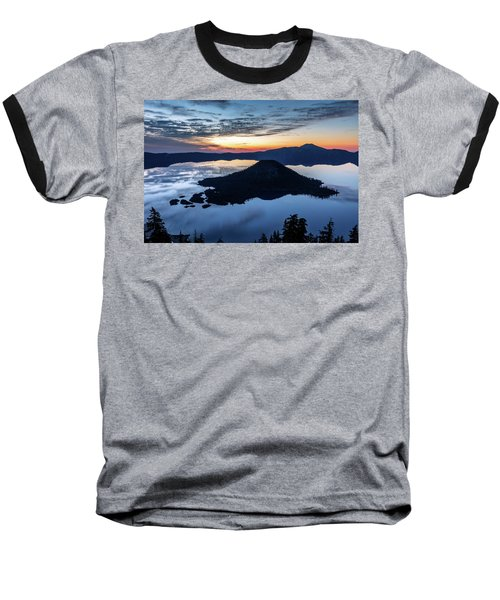 Baseball T-Shirt featuring the photograph The Wizard At Dawn by Pierre Leclerc Photography