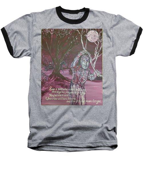 The Wolf Man, 1941 Baseball T-Shirt
