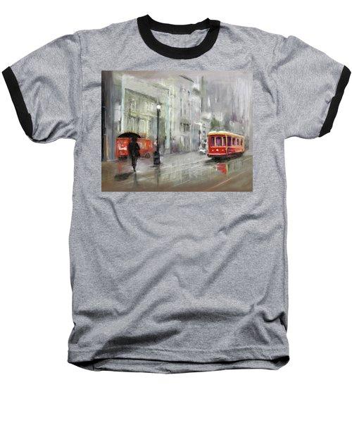 The Woman In The Rain Baseball T-Shirt