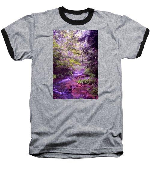 The Wonder Of Nature Baseball T-Shirt by John Stuart Webbstock