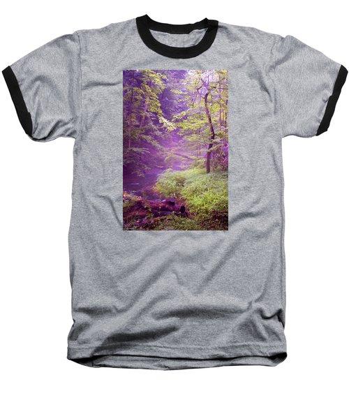 The Wonder Of Nature  Two Baseball T-Shirt by John Stuart Webbstock