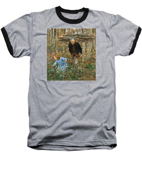 The Wood Gatherer Baseball T-Shirt
