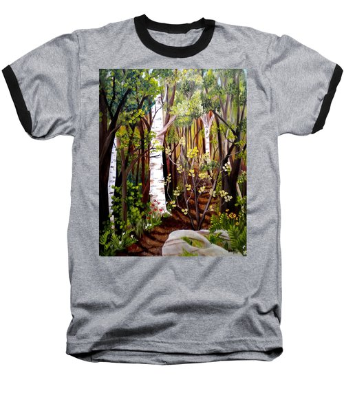 The Woodland Trail Baseball T-Shirt