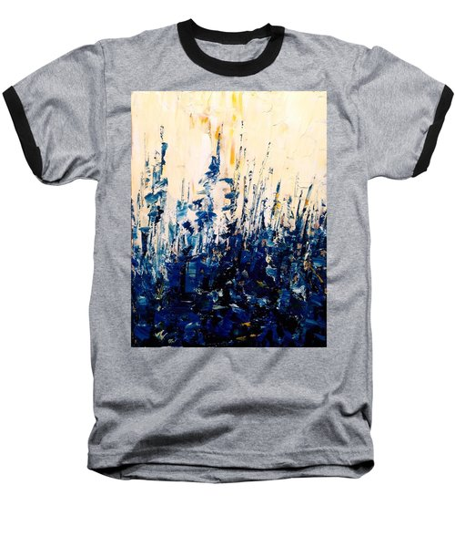 The Woods - Blue No.1 Baseball T-Shirt