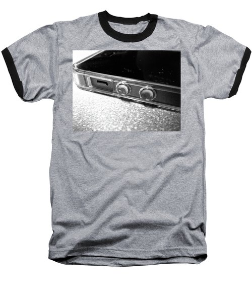 Baseball T-Shirt featuring the photograph The Work Phone by Robert Knight