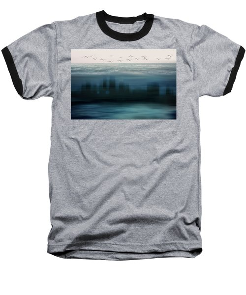 The World As We Know It Baseball T-Shirt