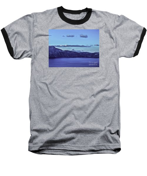 Baseball T-Shirt featuring the photograph The World Beyond by Nancy Marie Ricketts