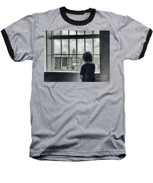 The World Outside My Window Baseball T-Shirt