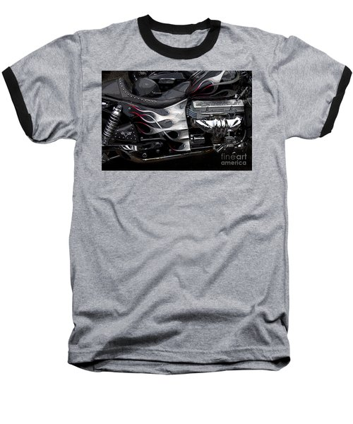 the WOW factor Baseball T-Shirt by Diane E Berry