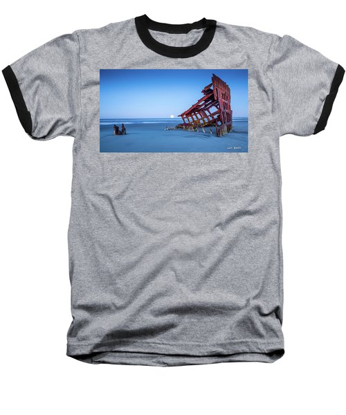 The Wreck Of The Peter Iredale Baseball T-Shirt