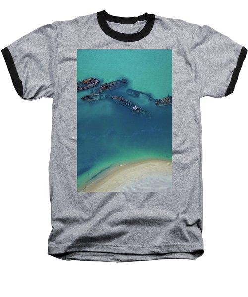 The Wrecks Baseball T-Shirt