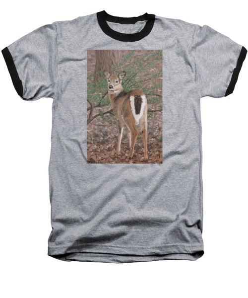 Baseball T-Shirt featuring the painting The Yearling by Sandra Chase