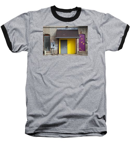 Baseball T-Shirt featuring the photograph The Yellow Birds by Monte Stevens
