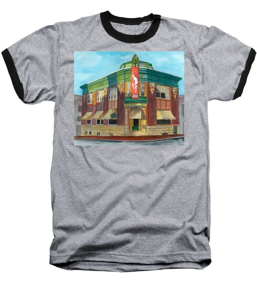 The Yellow Brick Bank Restaurant Baseball T-Shirt